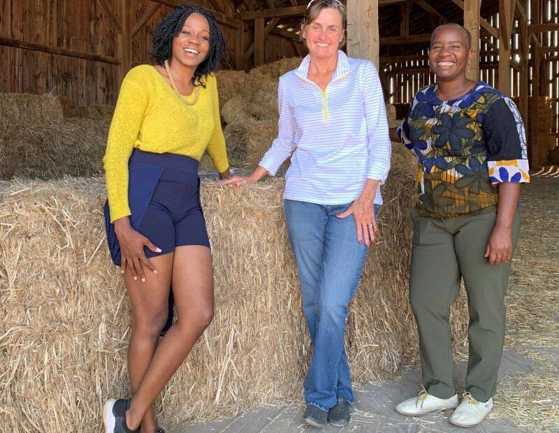 Hemp-Alternative CEO Cynthia Patrone-Hudock with Zimbabwe Industrial Hemp Trust license holder Dr. Zoey Maroveke
