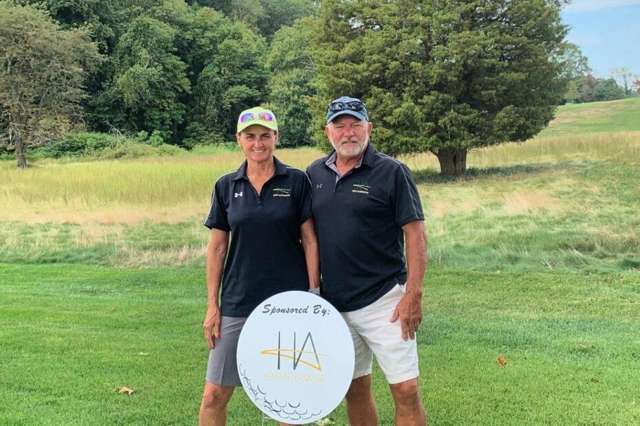 Hemp-Alternative team at The Stroud Center's Fore Freshwater Golf Invitational
